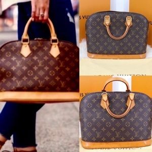 ❤️Beautiful Alma❤️ Satchel by Luis Vuitton